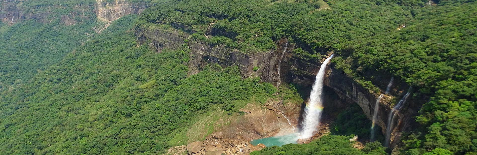 cherrapunjee waterfall