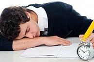 Fáradtság tanulás közben
