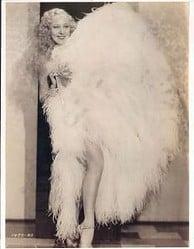 Sally Rand fan dancer