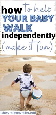 How to help your baby walk Independently - How to help baby walk sooner - 5 fun tips