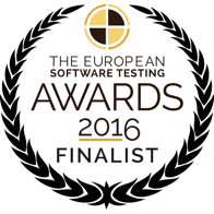 The European Software Testing Awards 2016 Finalist