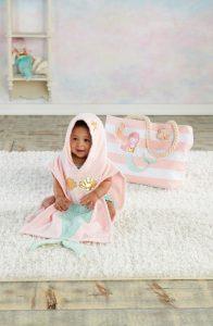 Mermaid Hooded Towel, Swimsuit, Sun Hat & Tote Set Nordstom | Summertime Baby Esssentials