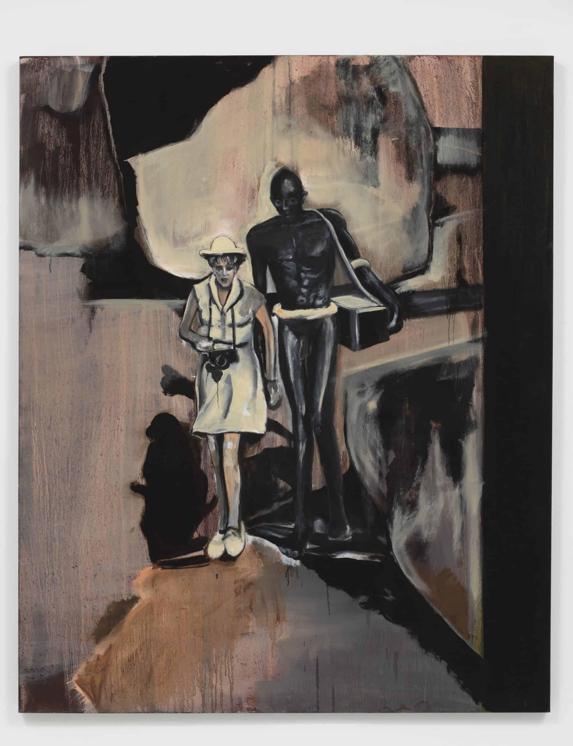 Leni Riefenstahl (2010) by Noah Davis.