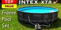 Top Value Above Ground Pool Set