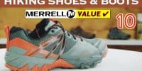 Best Hiking Shoes & Boots by Merrel