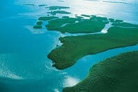 Aerial photo of the Lower Keys