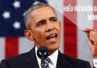 Barack Obama thuyết phục người nghe