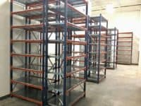 Warehouse Shelving Equipment side view