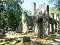 Bulow Plantation Ruins in f Bulow Plantation Ruins: 5 minutes off I-95 for romantic ruins, picnic & walk
