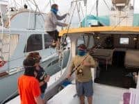 florida keys fishing with masks