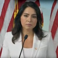 Tulsi Gabbard at 9/11 Tribute Museum demanding the release of documents related to Saudi involvement in the September Eleven attacks