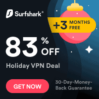 Surfshark Holiday offer