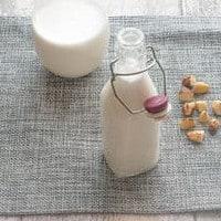 Delicious plant based Brazil nut milk
