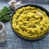 Caribbean creamy mash potato