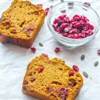 bread with cranberry pieces