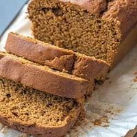 slices of ginger cake