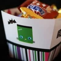 Halloween Free Party Printables - Treat Box