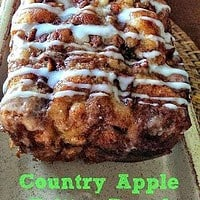 Awesome Country Apple Fritter Bread Recipe (Featured on The Kitchen - Food Network!)