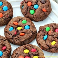 OMG! Thick & Chewy Mega 'Chocolate Fix' Cookies