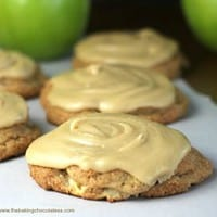 Ultimate Soft Caramel Apple Drop Cookies