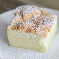 Very Vanilla Magic Custard Cake