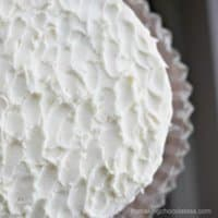 Super-Moist Vanilla Cake with Vanilla Buttercream Frosting