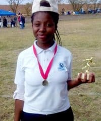 Tshepang, a recipient of Naledi Game Lodges social responsibility fund