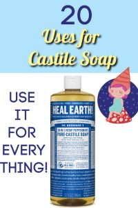 uses for castile soap