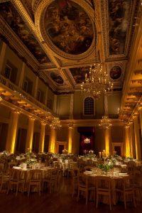 venues of christmas painted ceilings