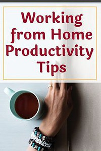 working from home productivity tips