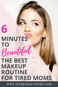 and everyday makeup routine can be done by moms!