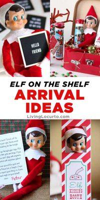 Best Elf on the Shelf Arrival Ideas Printables