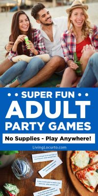 Fun Adult Games for a Party