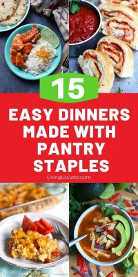 15 Easy Dinners Made with Pantry Staples