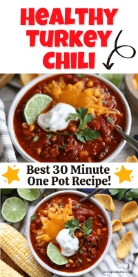 Southwest Turkey Chili Bowls