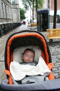 Baby travel, quebec city, travel with baby, best travel stroller, best stroller for travelling