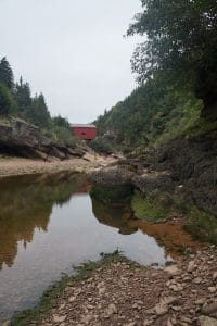 eastern canada road trip, fundy with baby