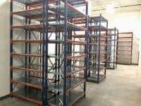 Warehouse Shelving Equipment side view