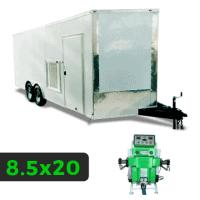 8_5x20 Spray Foam Rig Package with SprayEZ 3000 Spray Machine - Insulated Rig- Spray Foam Insulation Trailers and Equipment