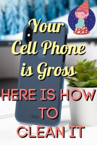 disinfect your smartphone