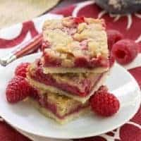 Streusel Topped Raspberry Squares featured image