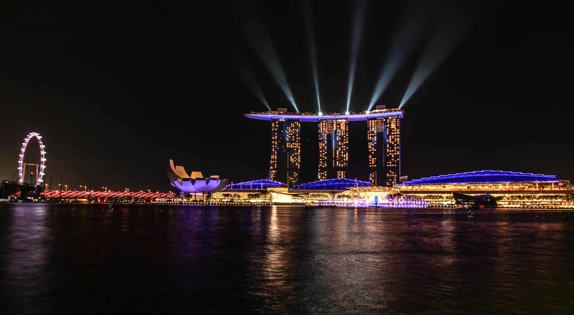Marina Bay Sands Lightshow