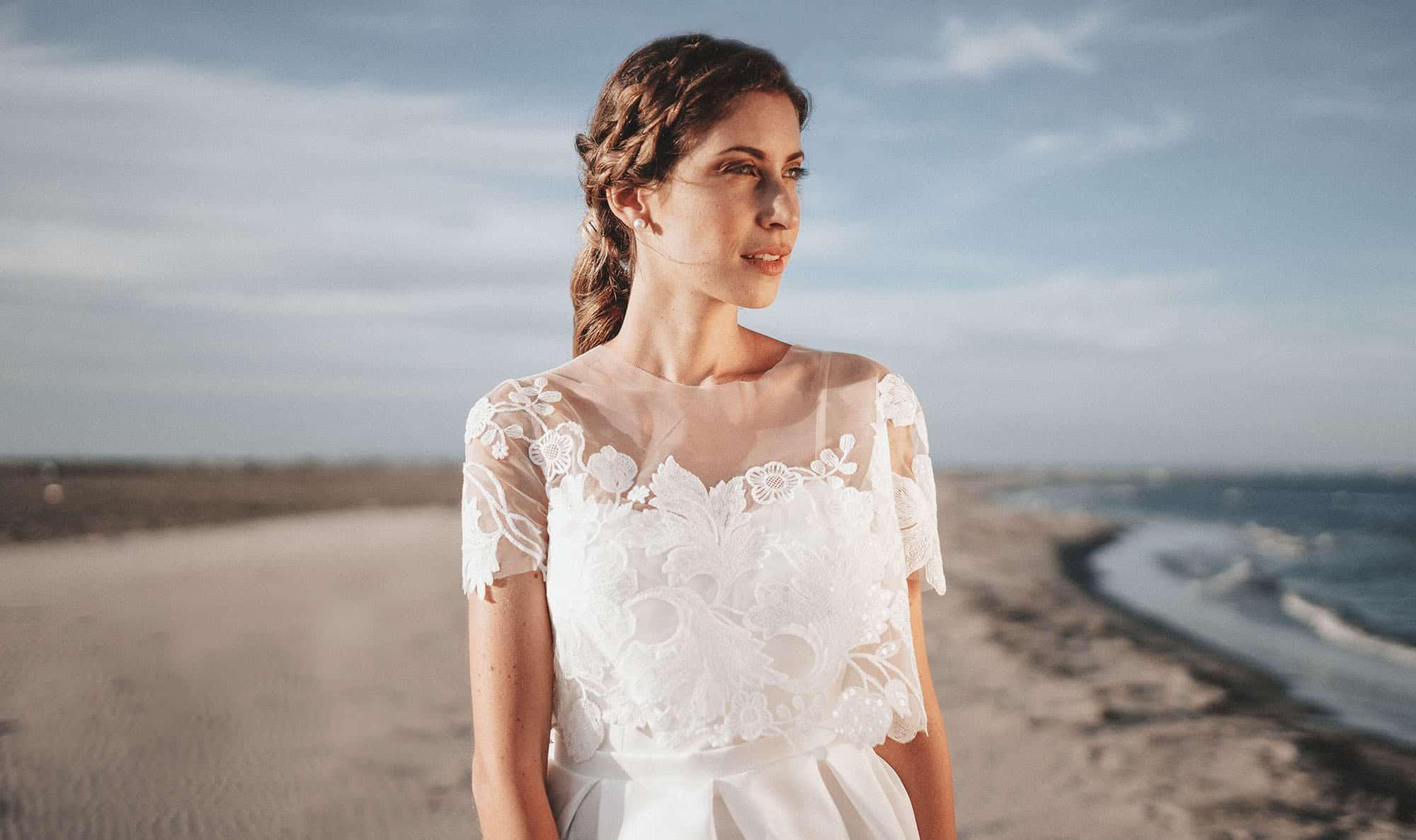Création de robe de mariée à Marseille