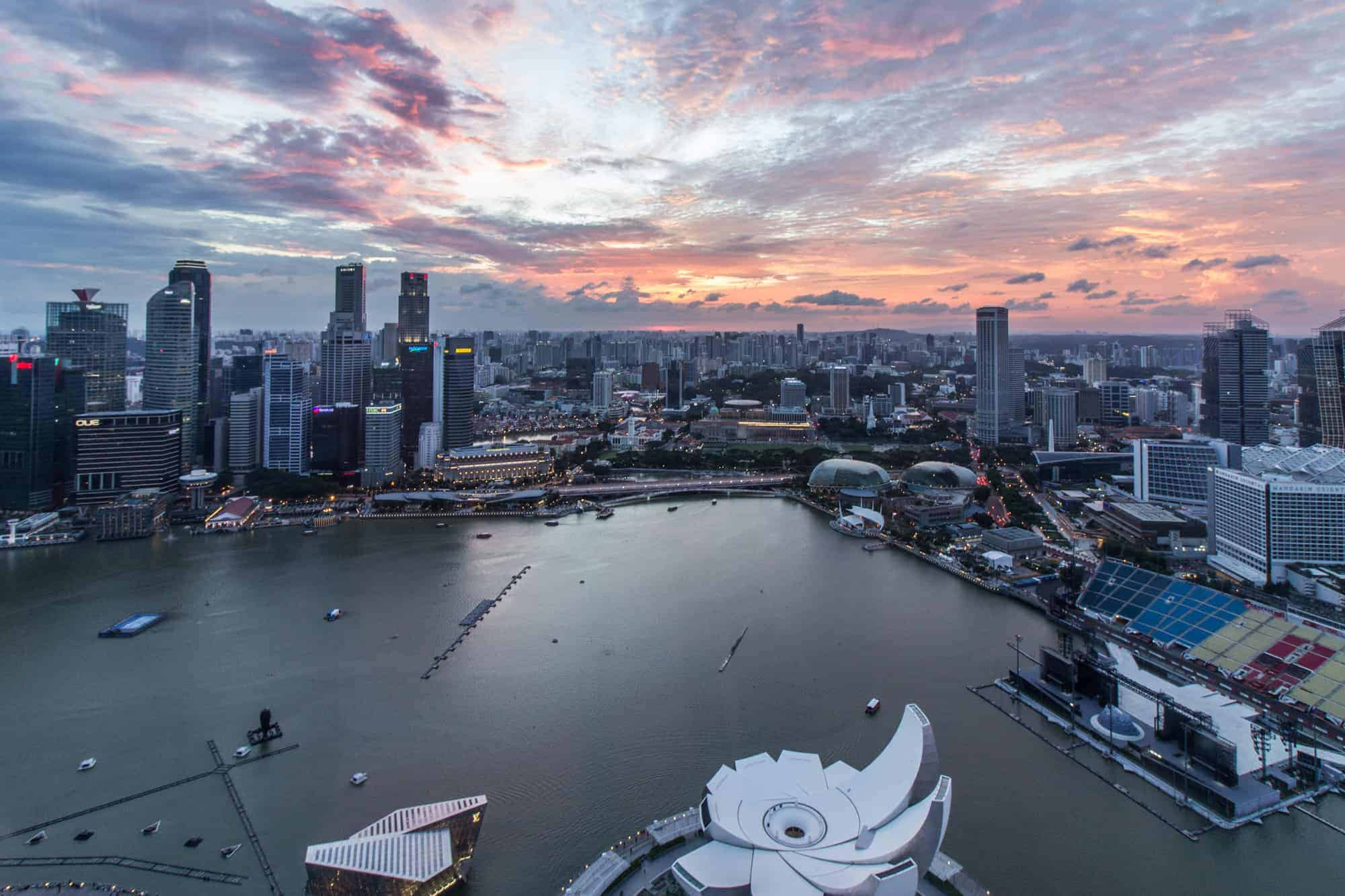 Photo Spots in Singapore: Skyline