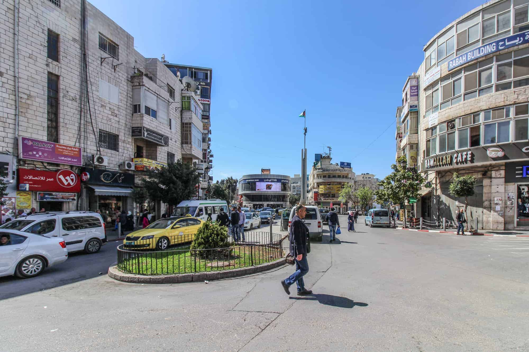 times square of palestine