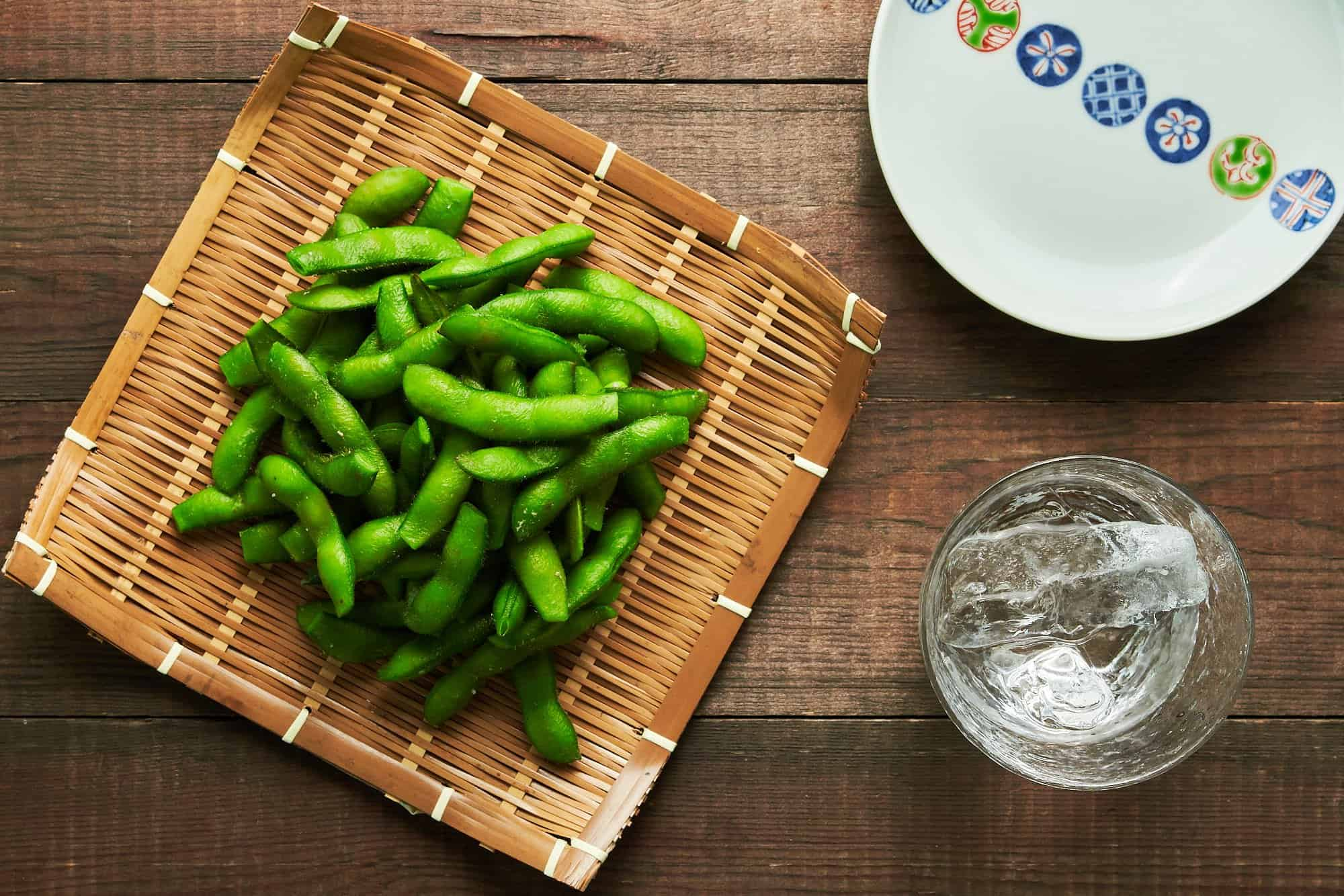 Edamame are an easy Japanese appetizer that comes togehter in just minutes. Here's the classic technique for making authentic Japanese edamame.