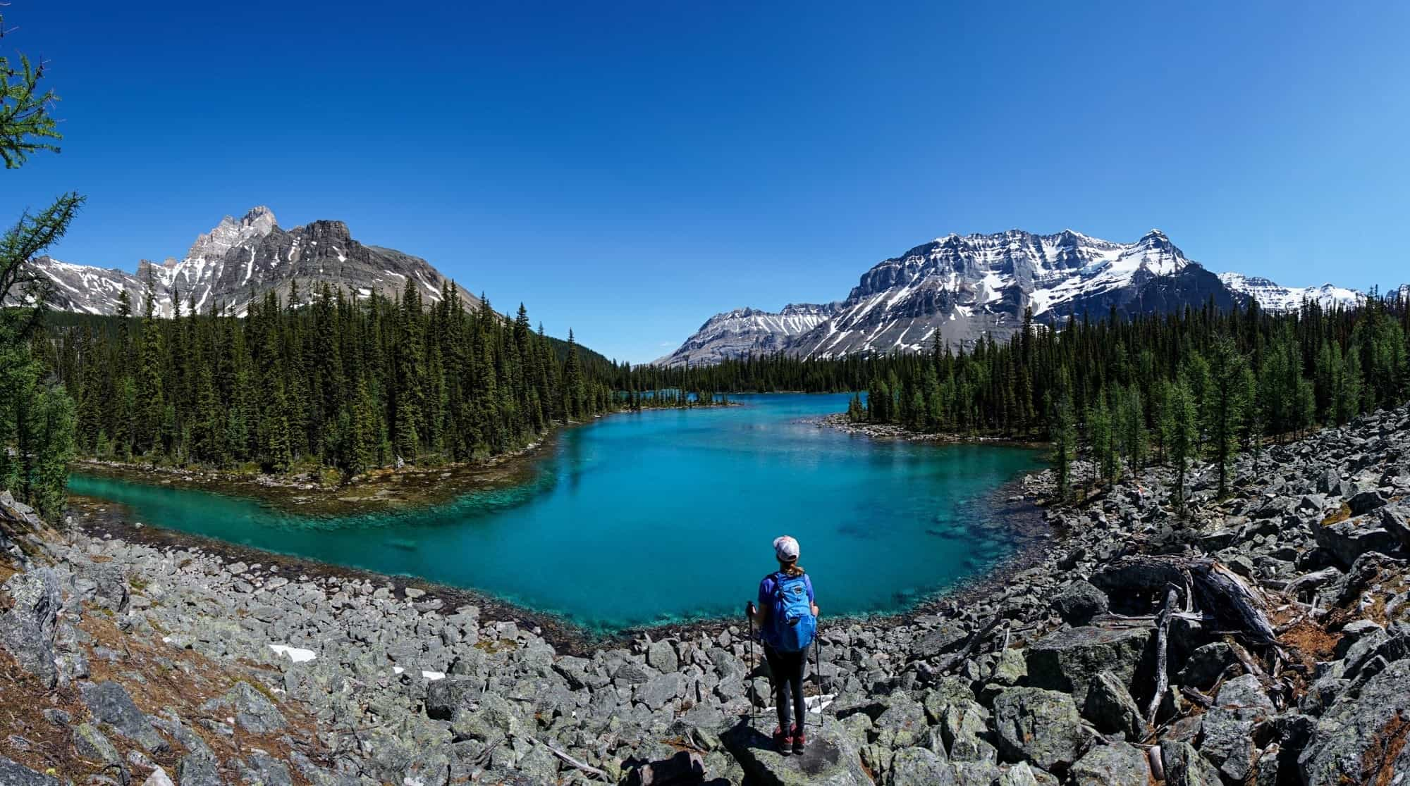 Linda Lake // Four days at Lake O'Hara was the highlight of my Canadian Rockies trip. Get my detailed hiking & camping guide to this British Columbia National Park.