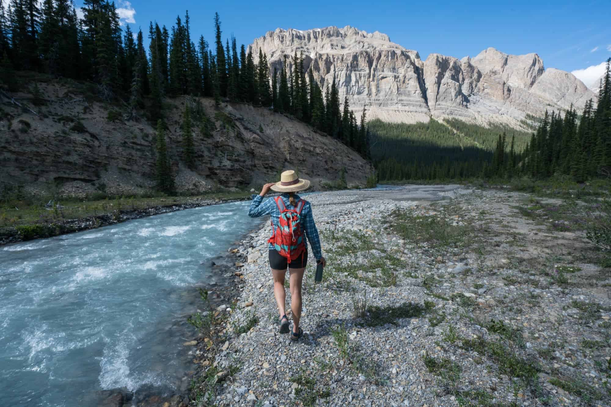 Explore turquoise waters, glacial mountains and secluded camping on an overnight Maligne Lake Kayaking Trip in Alberta's Jasper National Park. Learn how to plan with a full trip report and information on backcountry campsite reservations, kayak rentals, itinerary recommendations & more.