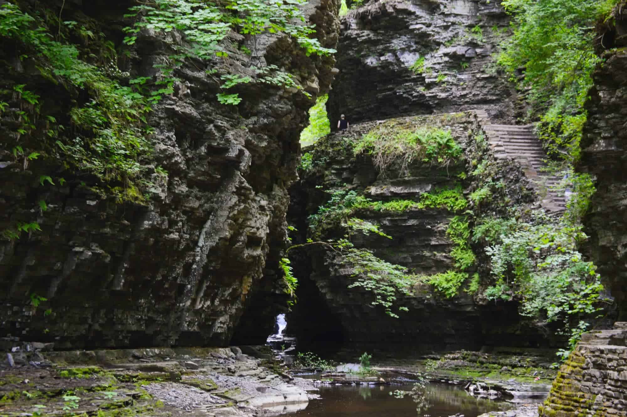 Watkins Glen State Park // Explore the beautiful East Coast by car with these 5 adventurous East Coast road trips, from the mountains of Maine to the Florida coast.