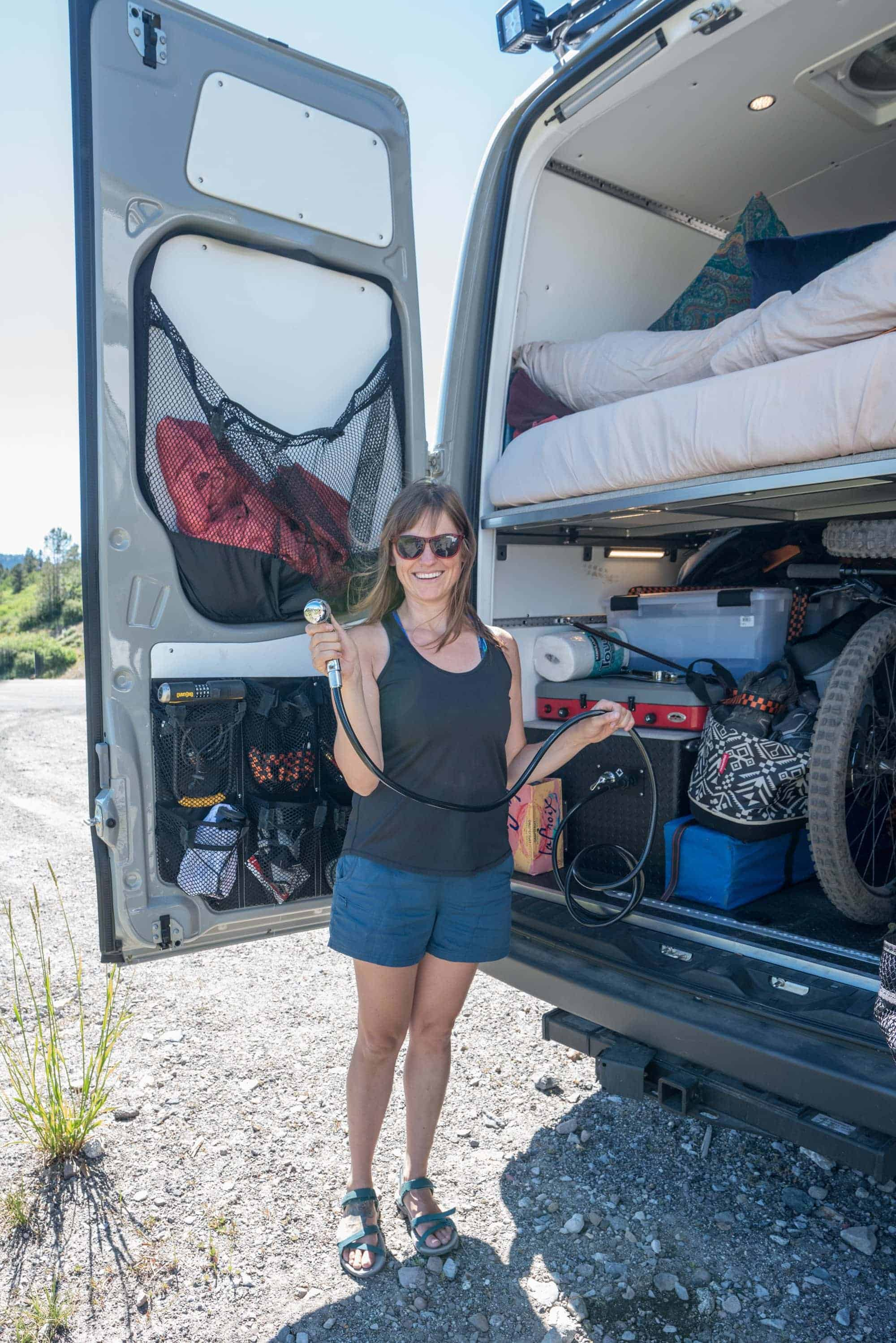 Having a shower in your camper van sounds nice, but it's expensive and unncessary. Here are 5 reasons you don't need a shower in your converted van.